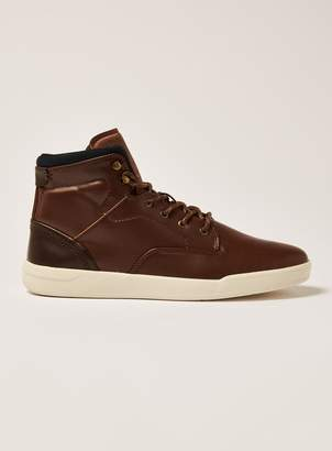 Tan Ranger Hi Top Boots