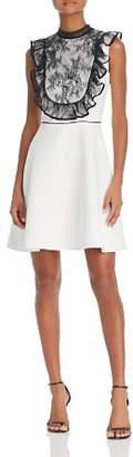 Nha Khanh Lace-Bib Dress
