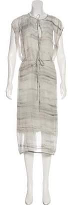 Raquel Allegra Sleeveless Midi Dress