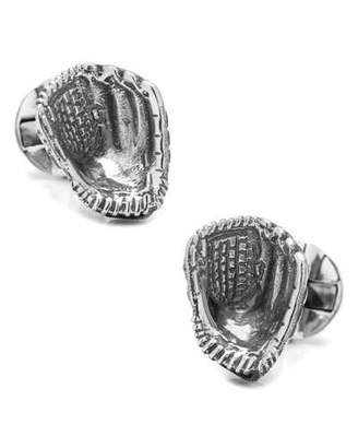 Cufflinks Inc. Sterling Silver Baseball Glove Cuff Links