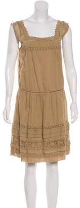 Philosophy di Alberta Ferretti Square Neckline Knee-Length Dress