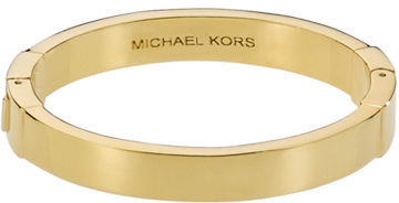 MICHAEL KORS Brass Hinged Bangle
