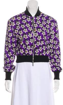 Ungaro Embellished Star Print Jacket