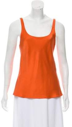 Josie Natori Silk Sleeveless Top