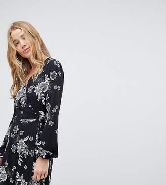 Miss Selfridge Floral Wrap Dress