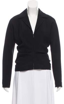The Row Pleated Crepe Jacket w/ Tags