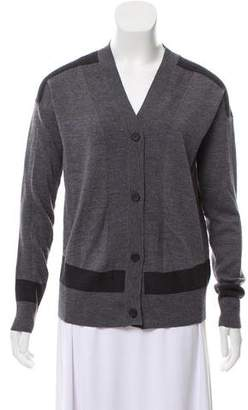 MM6 MAISON MARGIELA Wool Tweed Knit Caridgan