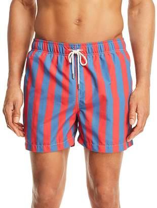 Solid & Striped Classic Santorini Striped Swim Trunks