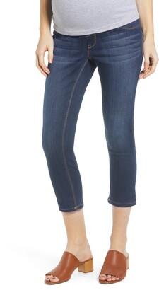 1822 Denim Crop Maternity Skinny Jeans
