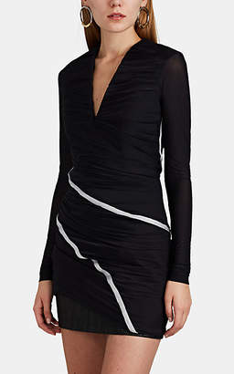 Y/Project Women's Layered Jersey Fitted Dress - Black