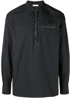 Valentino zip pocket shirt