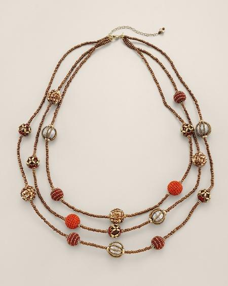 Chico's Alhena Multi-Strand Necklace