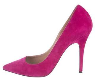 Jean-Michel Cazabat for Sophie Theallet Suede Pointed-Toe Pumps