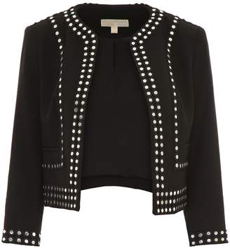 MICHAEL Michael Kors Short Jacket With Studs