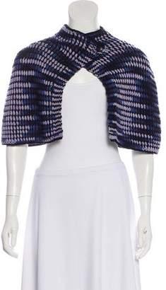Missoni Cashmere-Blend Lightweight Knit Cape