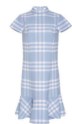 Oscar de la Renta Short Sleeve Day Dress