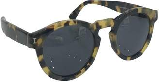 Illesteva Turquoise Plastic Sunglasses