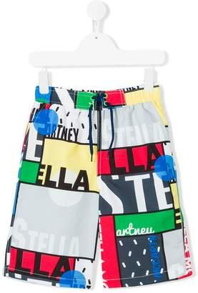 Stella McCartney Bix swim shorts