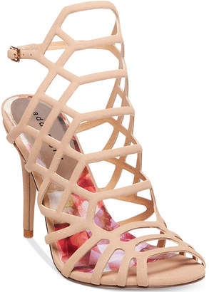 Madden Girl Directt Caged Sandals Women's Shoes $59 thestylecure.com