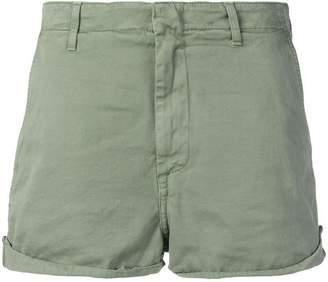 Dondup embroidered logo short shorts