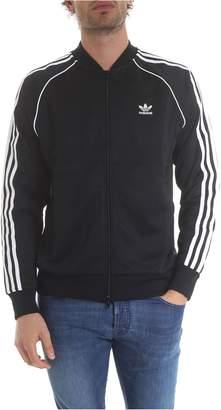 adidas 3 Stripes Zipped Sweatshirt