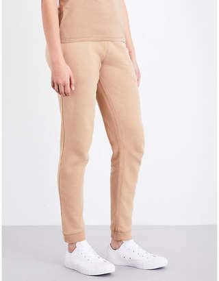 Sunspel Relaxed-fit cotton-jersey jogging bottoms $103 thestylecure.com