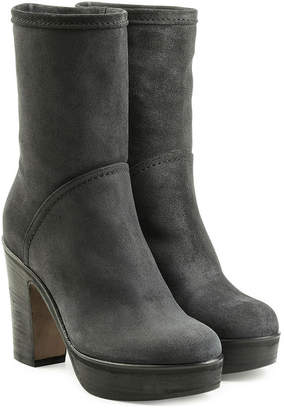 Fiorentini+Baker Suede Ankle Boots with Platform
