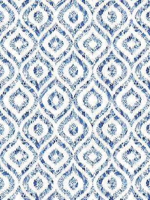 Royal Delft Ikat Wallpaper By Nicolette Mayer