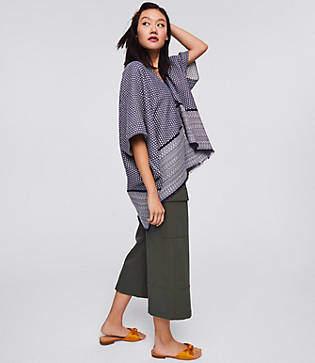 LOFT Mixed Stitch Kimono