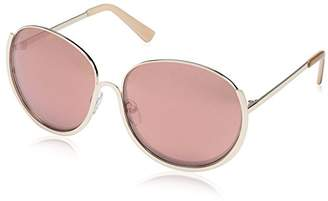 Society New York Women's Modern Round Sunglasses