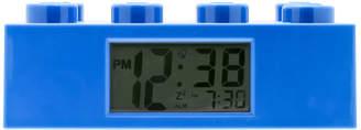 Lego Brick Alarm Blue Clock