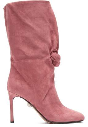 Samuele Failli - Betsy Suede Boots - Womens - Pink