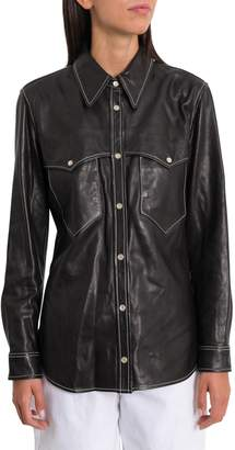 Isabel Marant Nile Leather Shirt