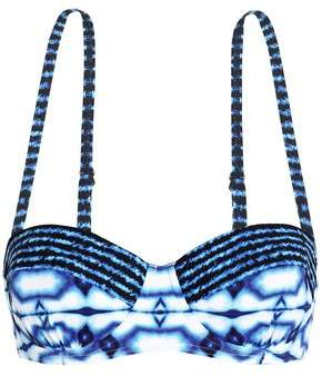 MICHAEL Michael Kors Printed Bikini Top