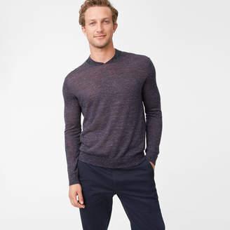 Club Monaco Bomber-Neck Sweater