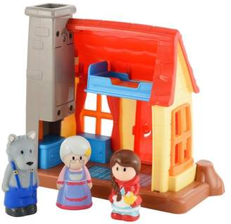 Early Learning Centre ELC Little Red Riding Hood Playset