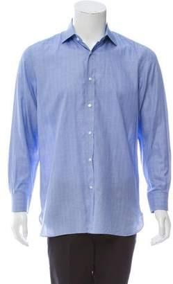 Ralph Lauren Purple Label Plaid Button-Up Shirt