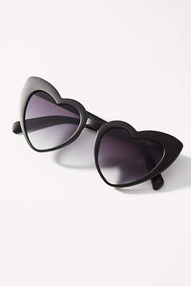 Anthropologie Queen of Hearts Sunglasses