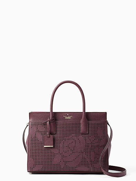 Cameron street perforated candace satchel