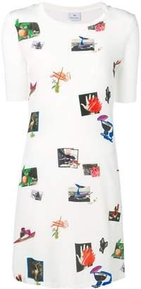 Paul Smith art print T-shirt dress