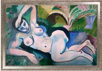 Matisse Overstock Art Blue Nude (Memory of Biskra), 1907 by Henri Framed Canvas)