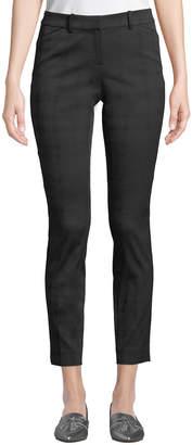 Lafayette 148 New York Manhattan Pleated Skinny Pants