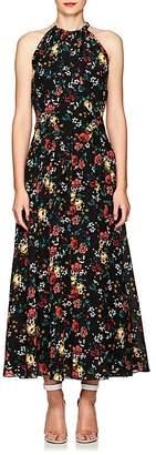 Derek Lam Women's Floral Silk Maxi Dress