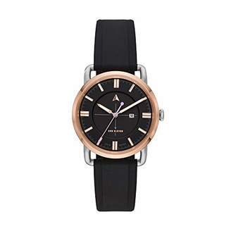 Eleven Paris One Women's SW1 Solar Quartz Two-Tone Stainless Steel and Silicone Casual Watch