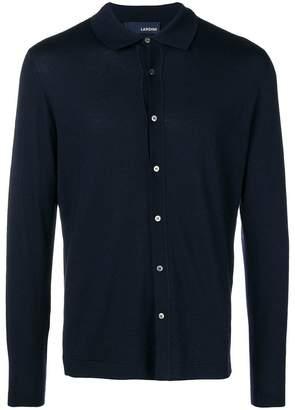 Lardini buttoned slim cardigan