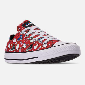 Converse Women's x Hello Kitty Chuck Taylor All Star Low Casual Shoes