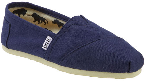TOMS 'Classic' Canvas SlipOn (Women)