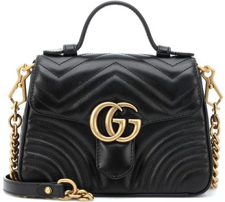 9cc2cac331b5 Gucci GG Marmont Mini leather shoulder bag