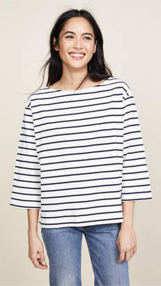 Madewell Striped Boat Neck Top