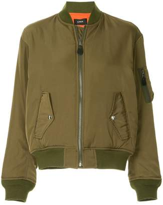 G.V.G.V. lace-up MA1 bomber jacket